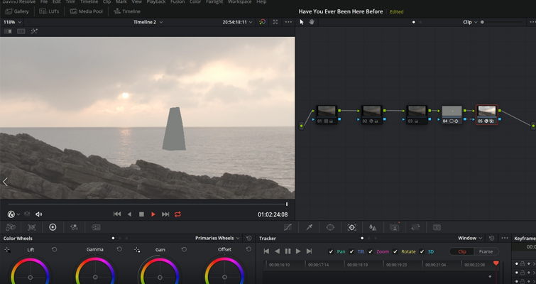 Using Resolve's New Object Removal Tool: Is It Any Good? — Patch the Mask Area