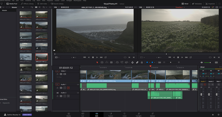 A Review: DaVinci Resolve 16's Cut Page - Is It Any Good? - The Mirror Page