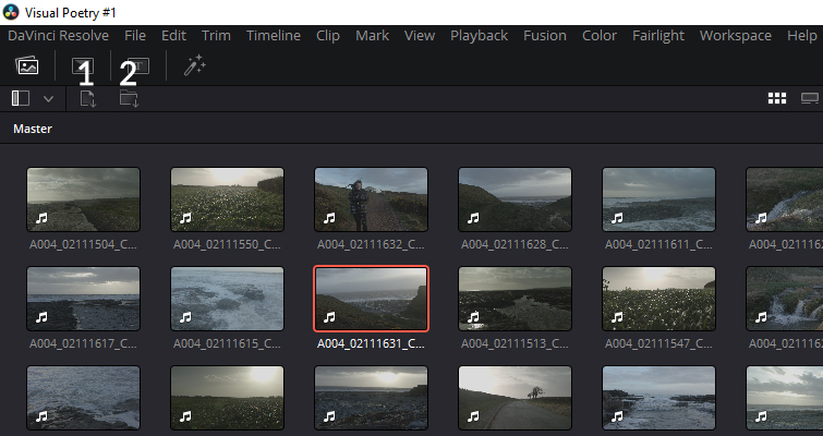 A Review: DaVinci Resolve 16's Cut Page - Is It Any Good? - Importing Files