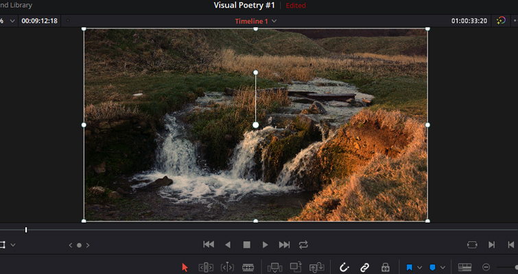 A Review: DaVinci Resolve 16's Cut Page - Is It Any Good? - The Transform Tool