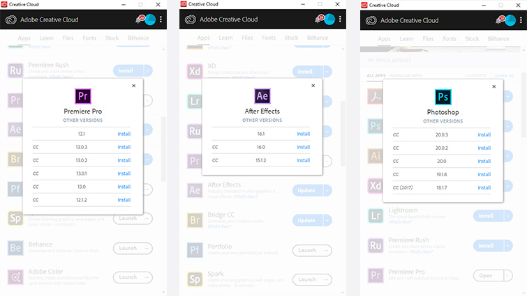 Why Adobe Doesn't Want You Using Older Versions of CC — Adobe Creative Cloud Versions