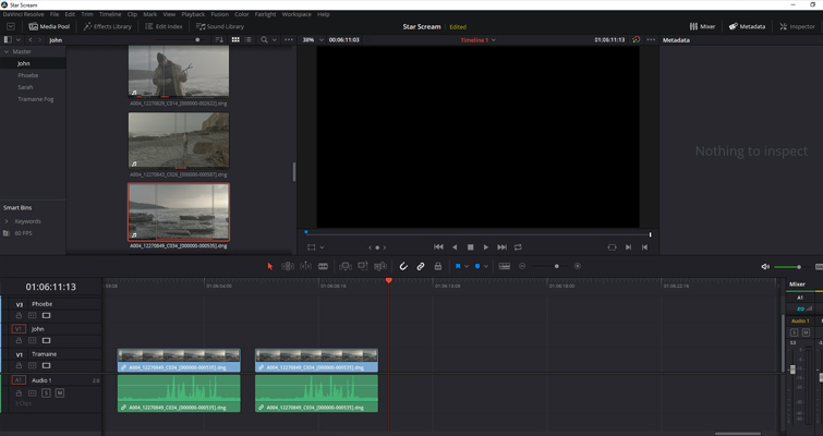 How to Work With Different Frame Rates With the Same File in Resolve - Base Clip