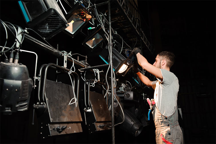 Inside the Electric Department: Lighting, Tools, and Safety Skills — Skills