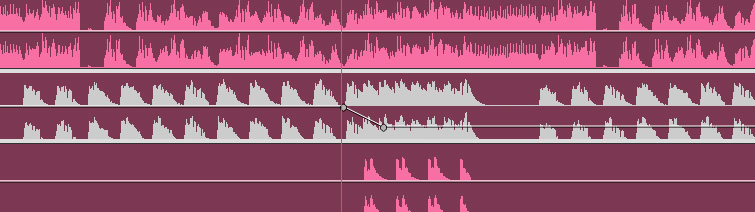Increase Production Value: Creative Ways Video Editors Can Use Song Stems - Audio Track Fade
