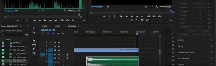 Video Transition Tracks