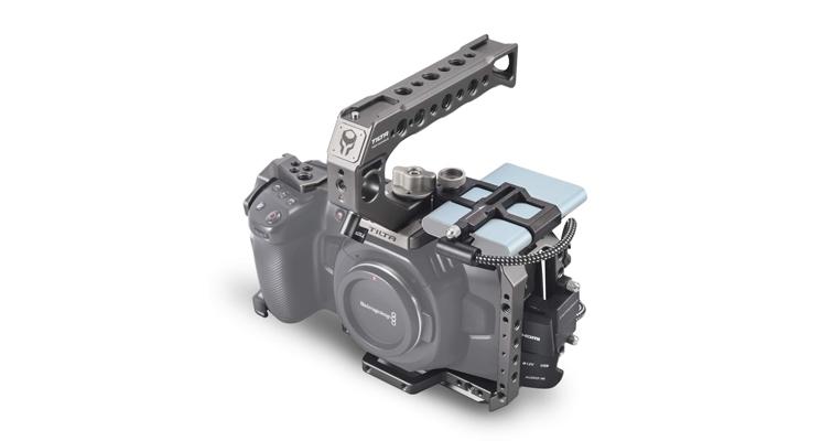 Building a Low Budget Handheld Rig for the Blackmagic Pocket Cinema Camera 4K - Top Handle