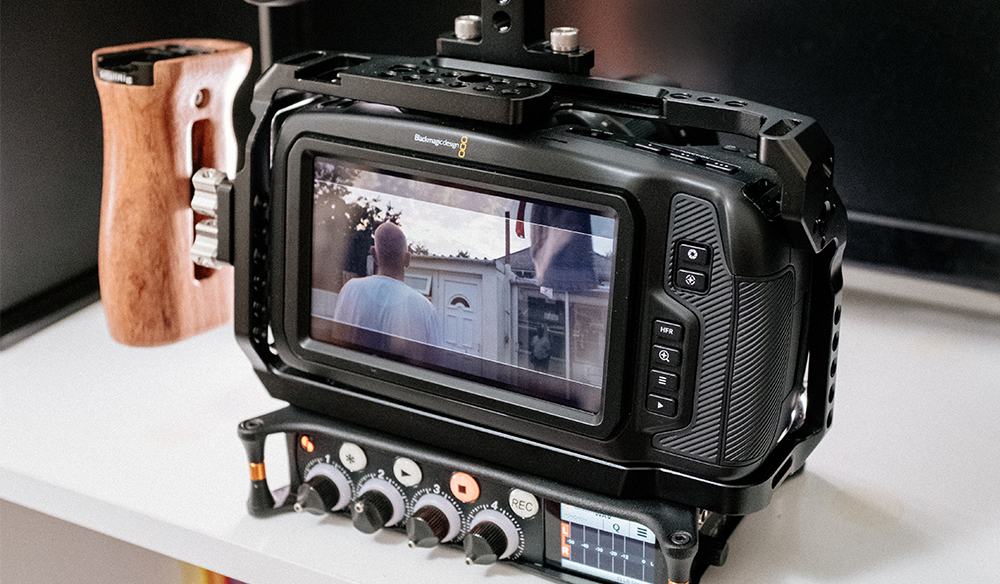 Building A Low Budget Handheld Rig For The Blackmagic Pocket Cinema Camera 4k