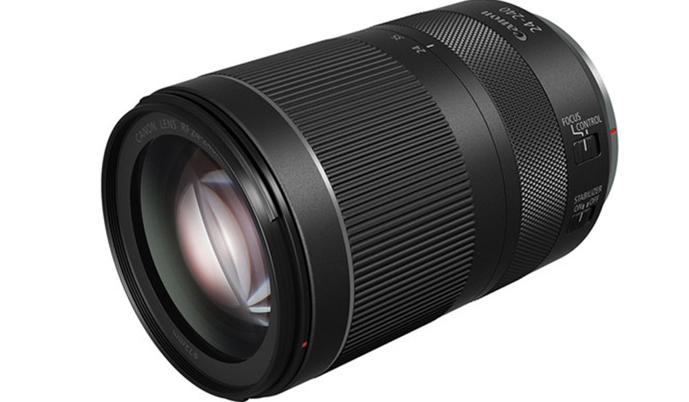 Canon Announces an Affordable Full-Frame 24-240mm All-in-one Zoom Lens