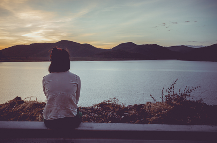 Embrace the Undeniable Power of Sad Music - lonely woman