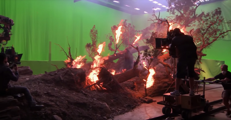 Everything You Need to Know About Chroma Key and Green Screen Footage – The Hobbit