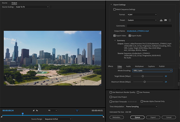 Pro Tip: Exporting a Finished Video from Premiere Pro — Export Settings