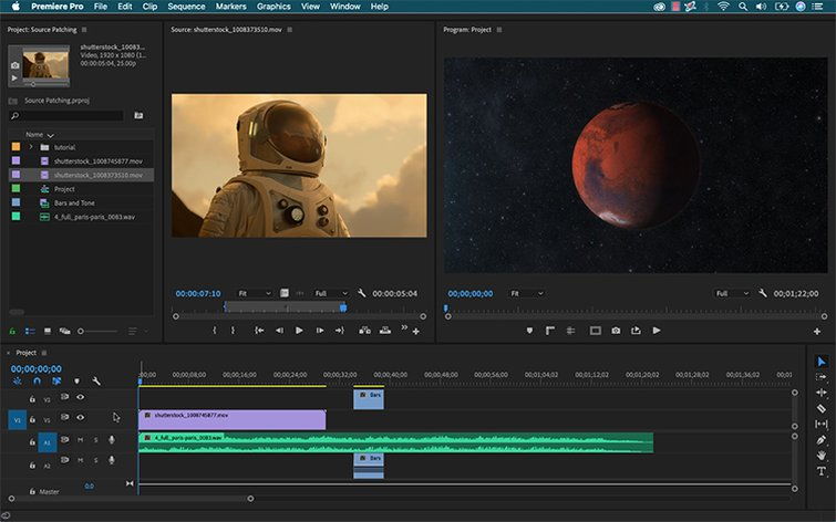 Master Premiere Pro's Timeline with Source Patching — Source Panel to Timeline