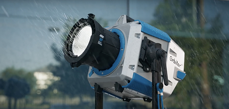 Introducing The Light That Can Do Everything: The ARRI Orbiter — Waterproof Housing