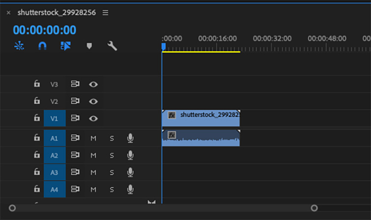 Using Zoom in Premiere Pro for Simple Transitions — Add Clip to Your Timeline