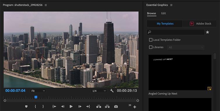 Video Editing 101: How to Add Titles and Subtitles in Premiere Pro — Essential Graphics Panel