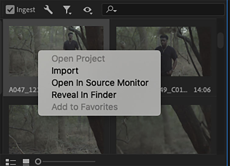 Premiere Pro Quick Tip: How to Create Proxies - Import
