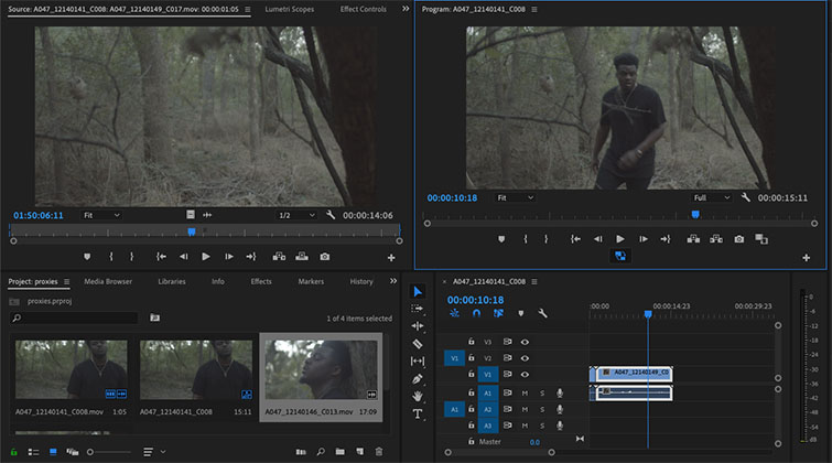 Premiere Pro Quick Tip: How to Create Proxies - Proxy Workflow