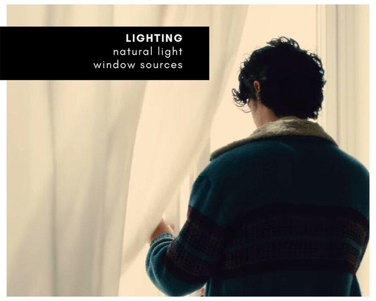 Mood board — lighting