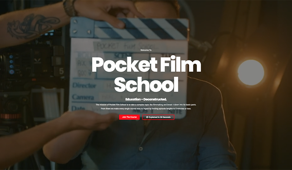 """This """"Pocket Film School"""" Teaches Everything You'd Learn in Film School"""