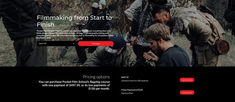 """This """"Pocket Film School"""" Teaches Everything You'd Learn in Film School — Pricing Options"""