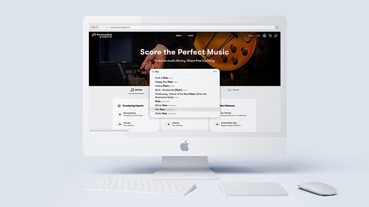 Finding Perfect Music Is Easier and Faster with PremiumBeat — Instrument Search