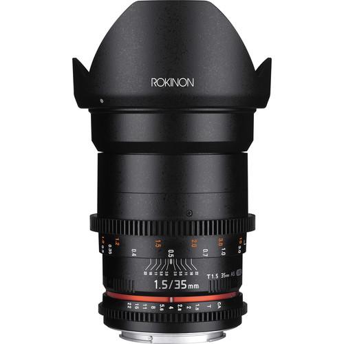 5 Bang-for-Your-Buck Cinema Lenses for Beginners — Rokinon Cine DS 35mm Lens