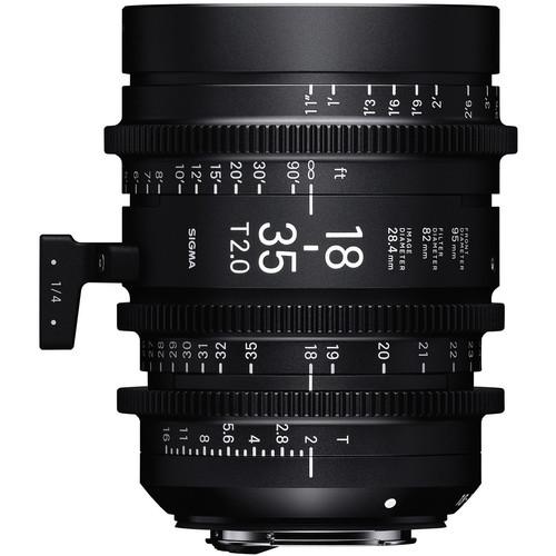 5 Bang-for-Your-Buck Cinema Lenses for Beginners — Sigma Cine 18-35mm T2 Lens