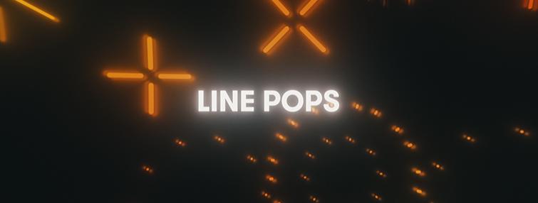 Line pop motion graphics
