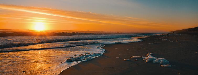 Free cinematic sounds: beach sunrise