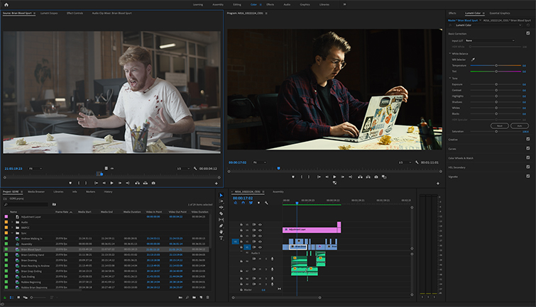 The Best Video Editing Programs: Final Cut Pro vs. Premiere Pro — Adobe Premiere Pro