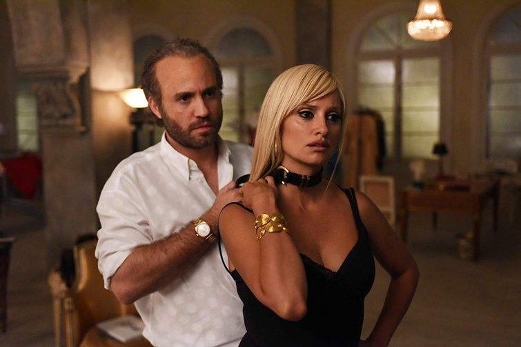 Edgar Ramirez and Penelope Cruz in American Crime Story