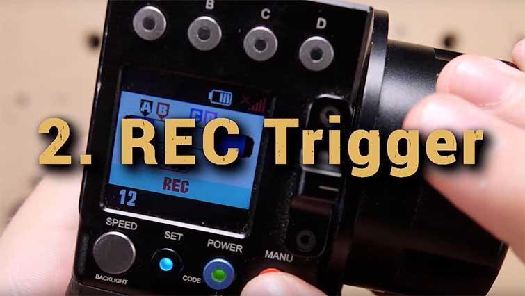 Record trigger