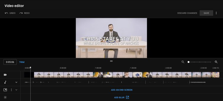 Reviewing YouTube's New Non-Linear Video Editor — Non-Linear Editing