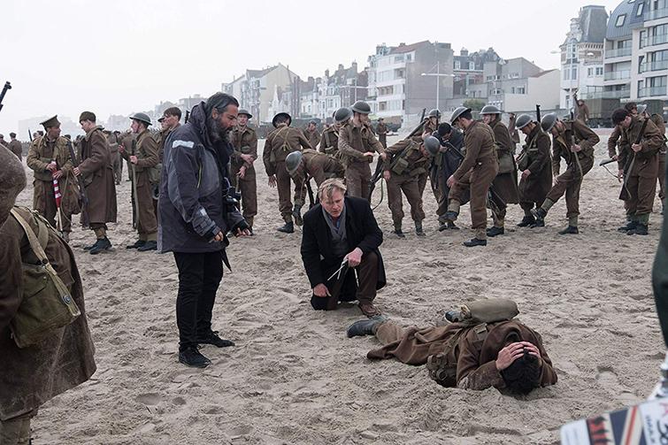 Christopher Nolan on Dunkirk Set