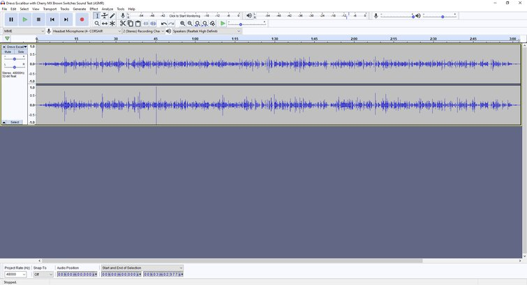 Fade in and out in Audacity