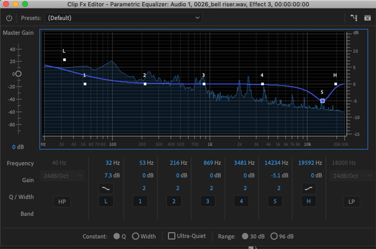 Free Epic Sound Effects for Film and Video Trailers — Parametric EQ