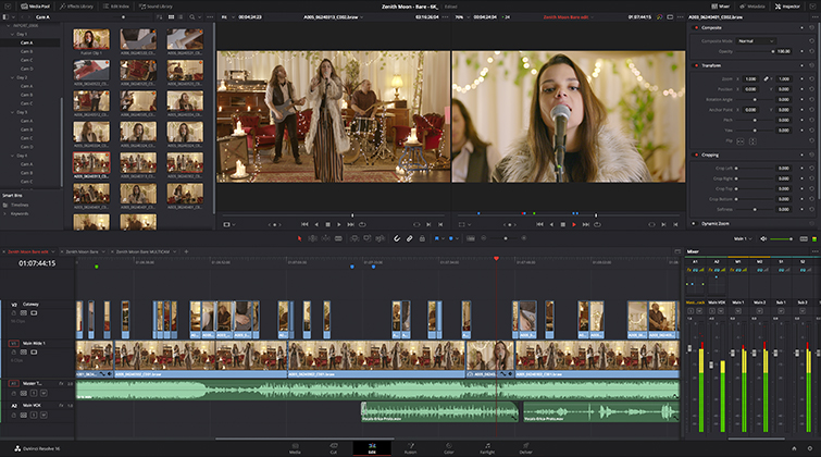 Blackmagic Design Releases New DaVinci Resolve 16.2 — Video Editing Improvements