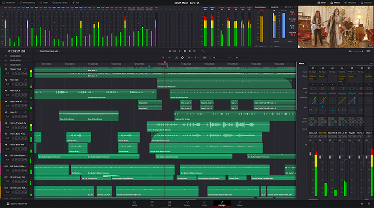 Blackmagic Design Releases New DaVinci Resolve 16.2 — New Fairlight Features