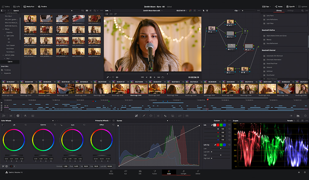 Blackmagic Design Releases New DaVinci Resolve 16.2