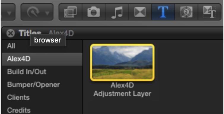 ALEX4D Adjustment Layer