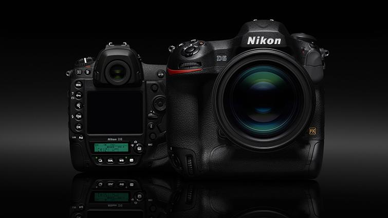 Nikon D6 sports camera delay