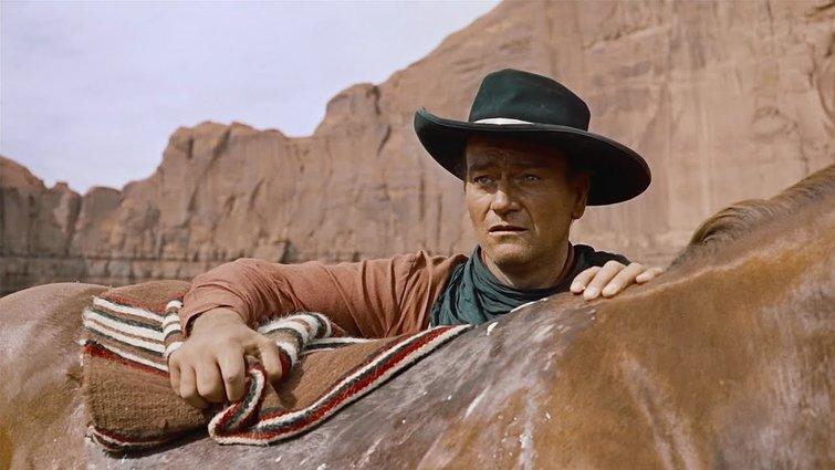 """John Wayne in """"The Searchers"""""""