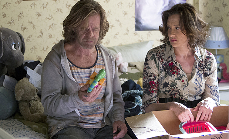 """The 10 Best Movies About Characters Stuck Inside — William H. Macy and Joan Cusack in """"Shameless"""""""