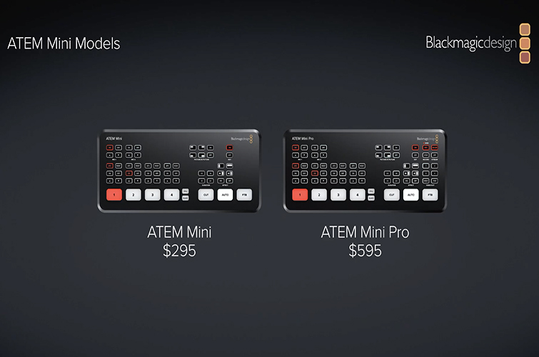 Blackmagic Announces New Atem Mini Pro And Other Updates