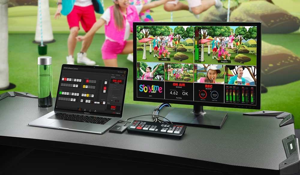 Blackmagic Announces New Atem Mini Pro and Other Updates