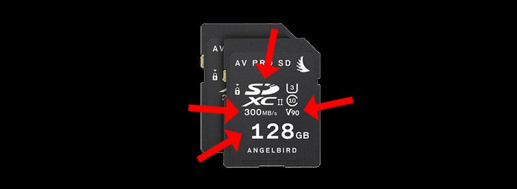 Learn How to Pick the Best Media Card for Your Camera — SD Card Terminology