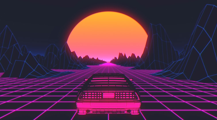 The Visual Styles of the Synthwave and Vaporwave Video — The Look of Synthwave