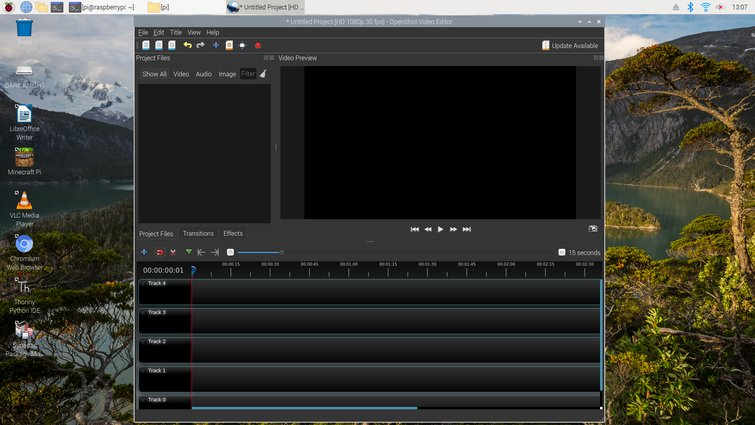 What Can Video Editors Do with a Raspberry Pi? — OpenShot Video Editor