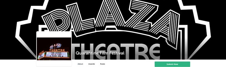 7 Best Digital Film Festivals and Online Film Challenges — Quarantine Film Festival