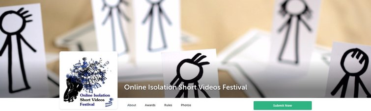 7 Best Digital Film Festivals and Online Film Challenges — Online Isolation Short Videos Festival